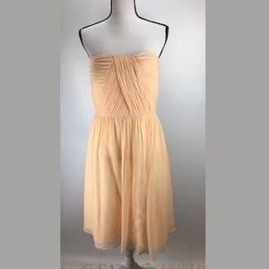 Donna Morgan Dress 12 Strapless Sweetheart J182